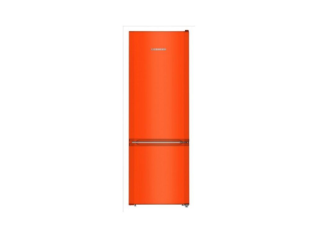CUno 2831 červená lednice