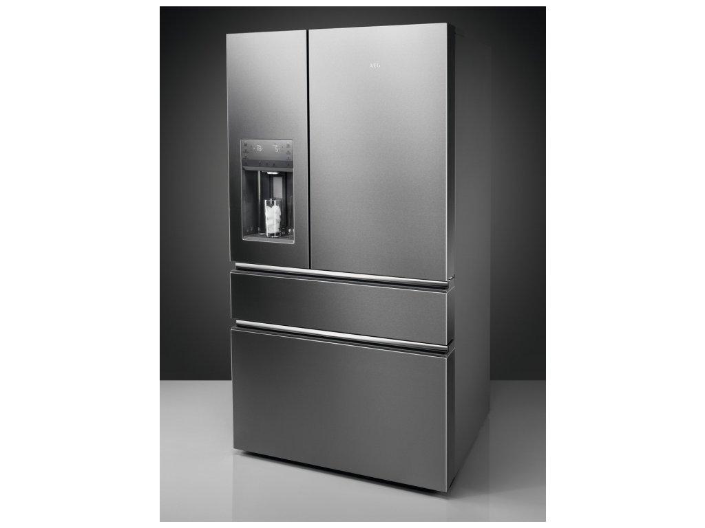 RMB954F9VX nerezová lednice AEG