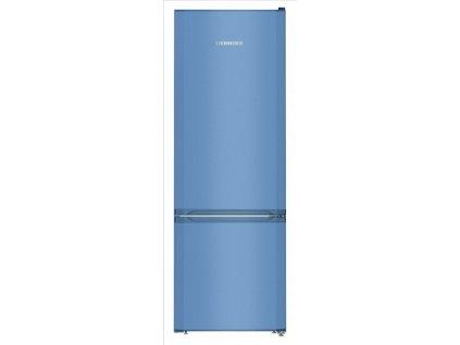 CUfb 2831 modrá chladnička