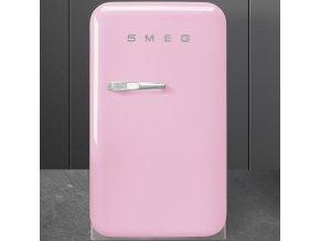 FAB5RPK růžová lednička