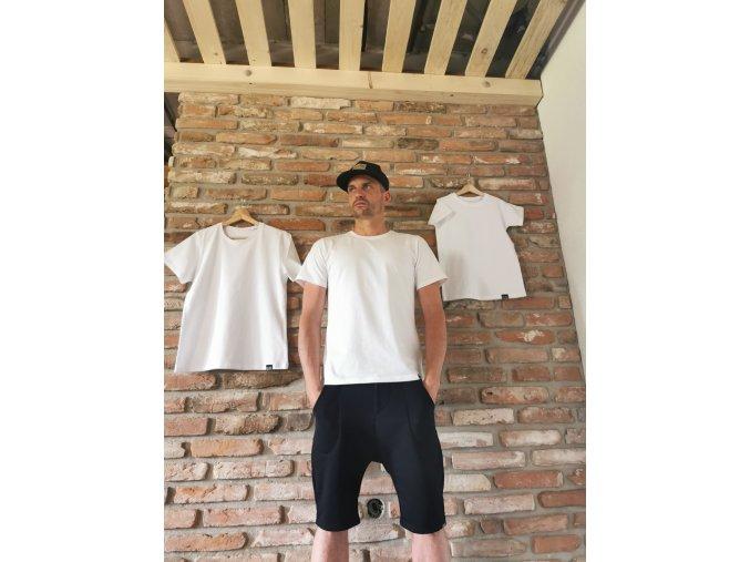 Pánske tričko Pure White