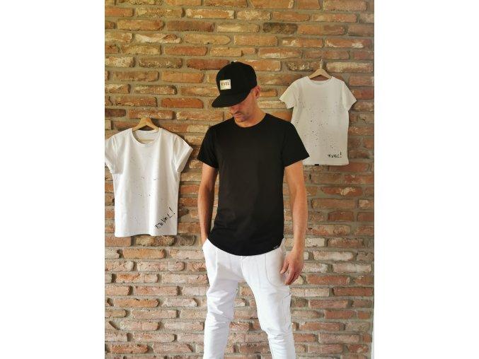 Pánske tričko Pure Black