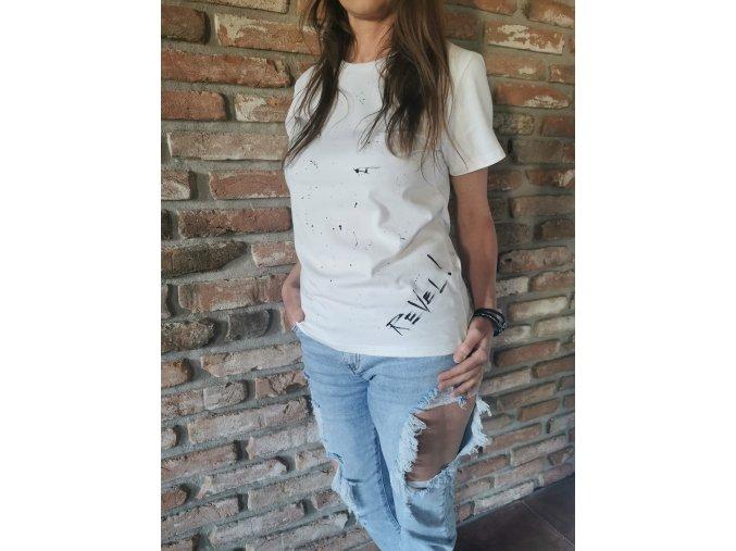 Dámske tričko White Revel