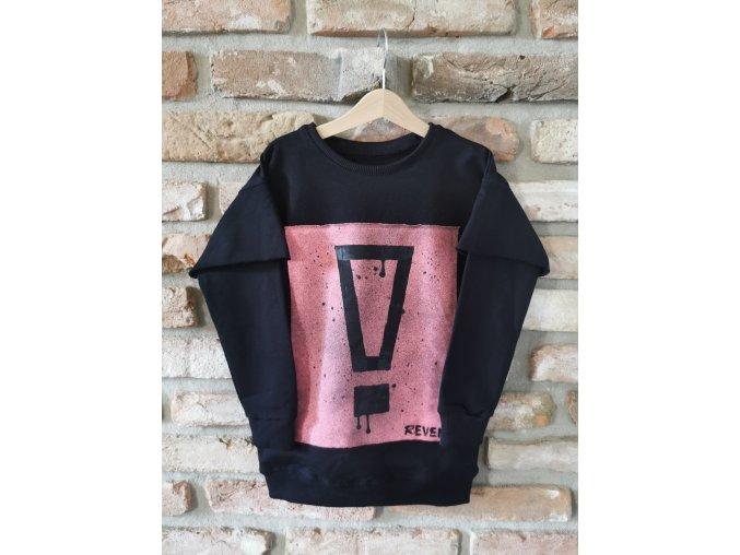 Chlapčenská mikina Black Pink