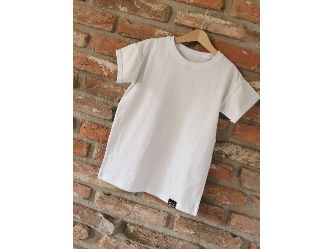 Tričko UNI Pure White