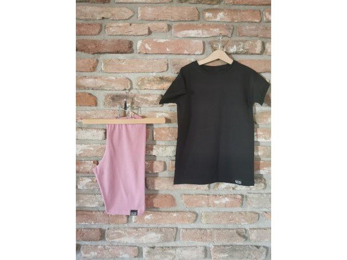 Tričko UNI Pure Black