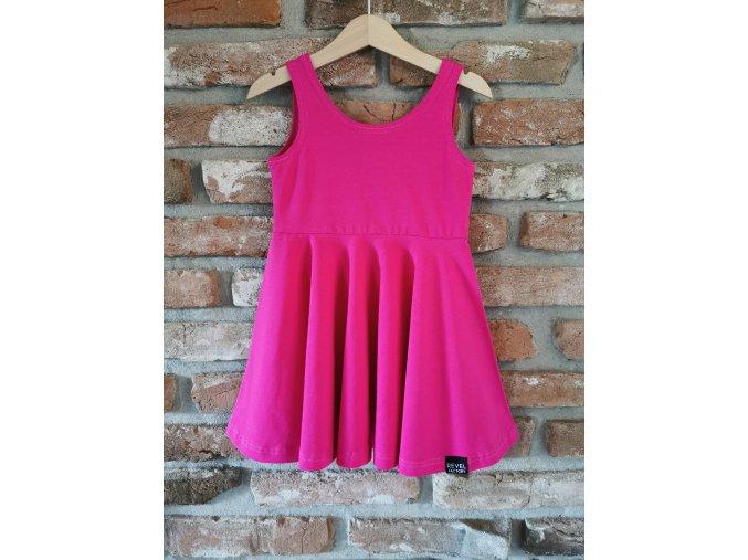 Šaty Summer Vibes - Cyclamen
