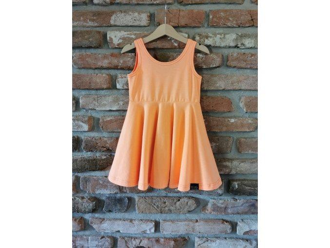 Šaty Summer Vibes - Neon Orange