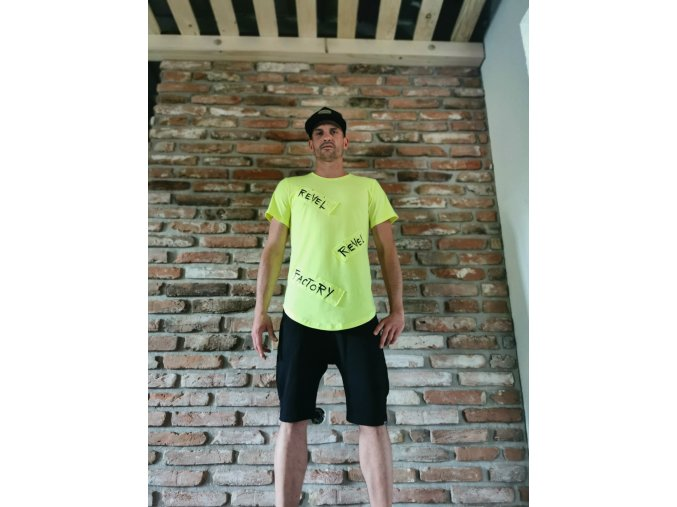 Pánske tričko Neon Yellow - Revel