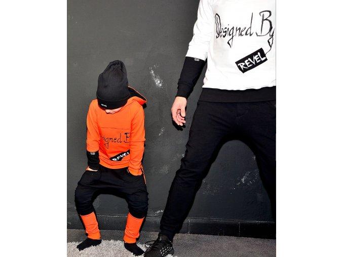 Tepláky pudlové Orange - Revel