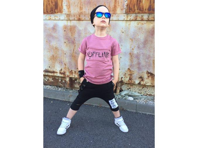 Tričko Offline Pink - Revel