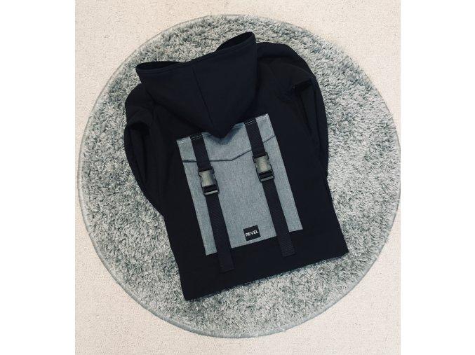 Softshellová bunda Backpack Mini - Black Revel