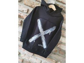 Dievčenská mikina Black X