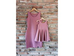 Dámske šaty Summer Vibes - Old Pink