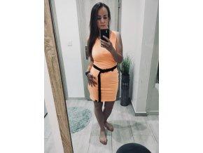 Dámske šaty Summer Vibes - Neon Orange