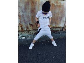 Tričko Offline White - Revel