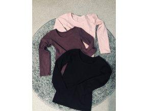 Dievčenské slim tričko - REVEL