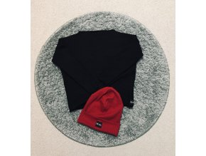 Dievčenská mikina Black - Revel