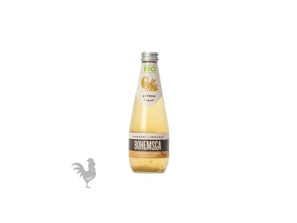 Bio citron a zázvor, Bohemsca 0,33 l