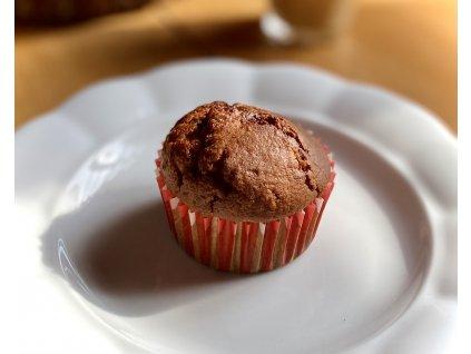 Muffin s mléčnou čokoládou