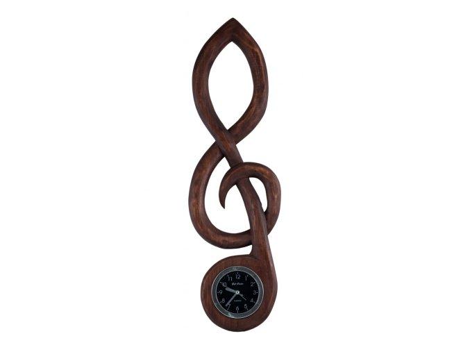 Houslový klíč - hodiny