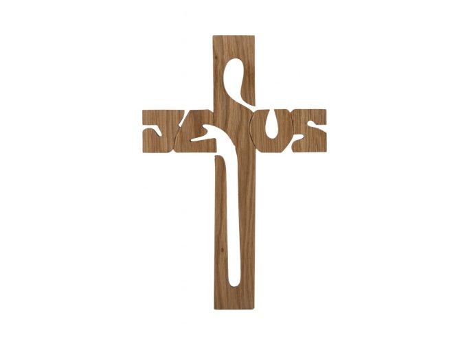 Dřevěný kříž - Jesus