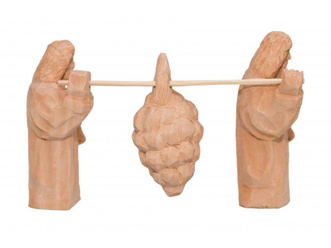Nosiči s trsem ovoce