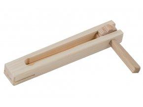 Dřevěná řehtačka - malá 18 cm