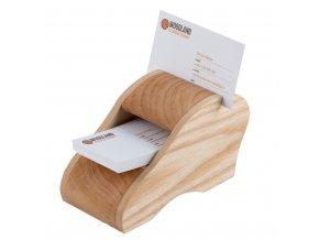 Luxusní dřevěný vizitkář - stolní III