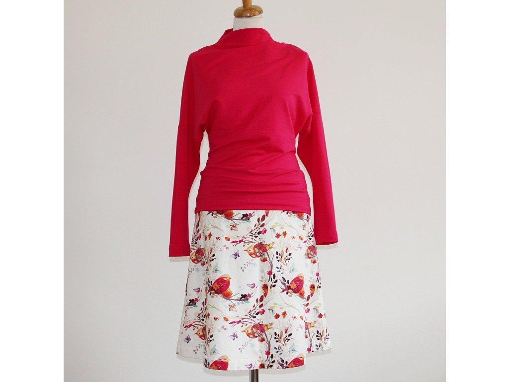 Krátká sukně - Hnízdění - teplá