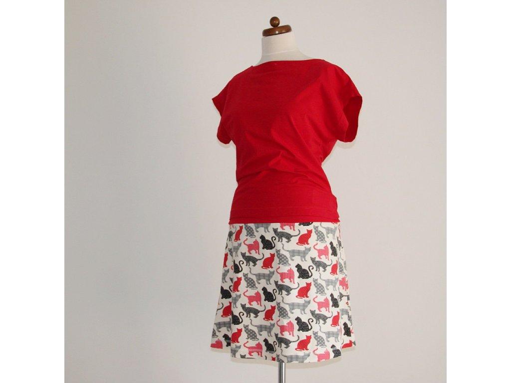 Krátká sukně - Kočíčí