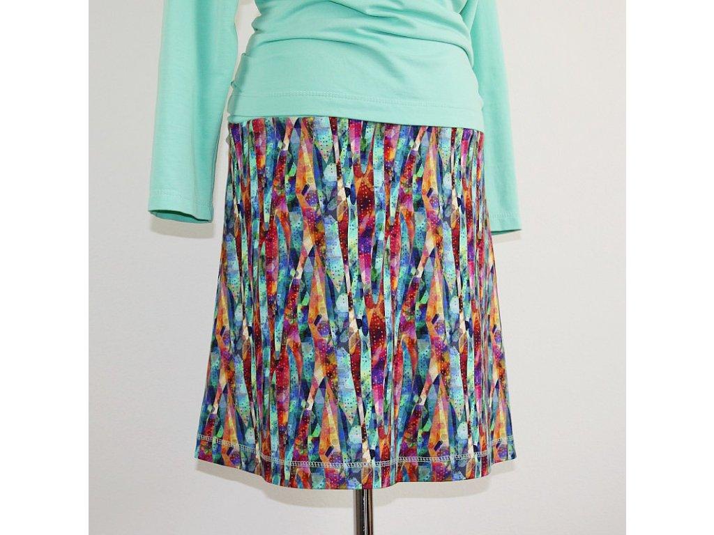 Krátká sukně - Bengálské pruhy