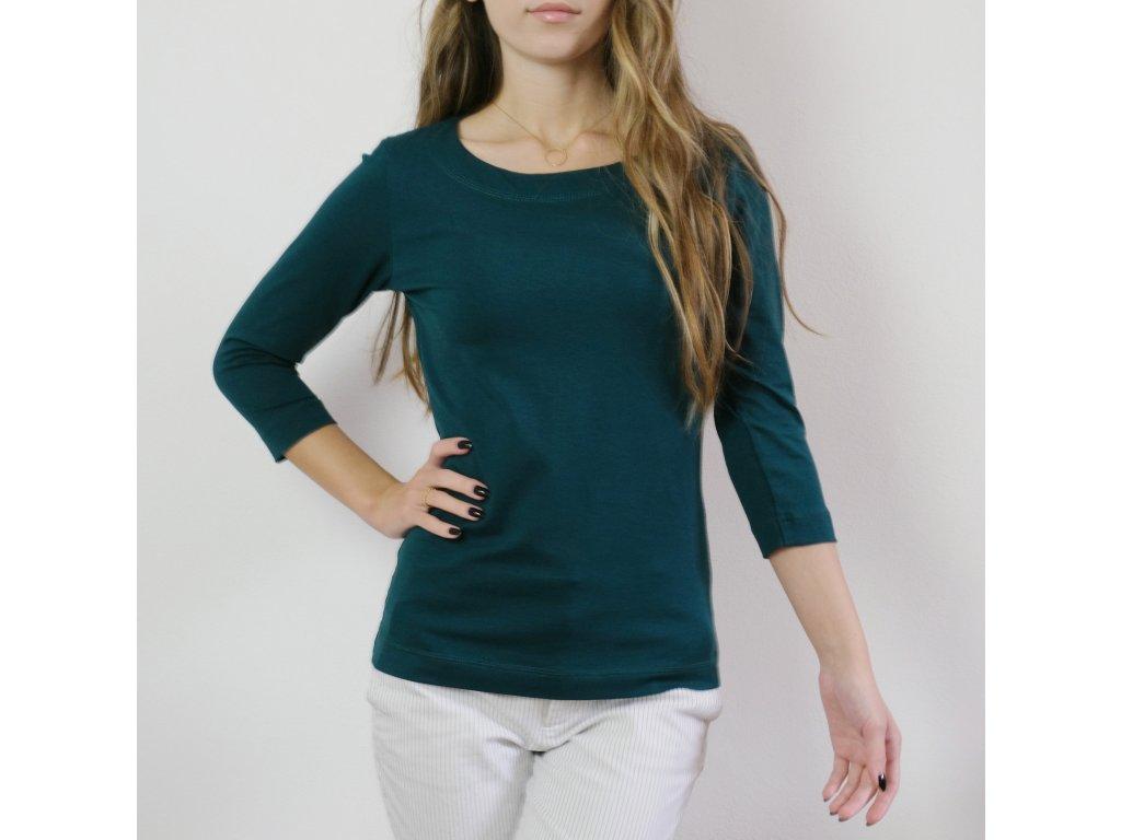 Tričko - tmavě zelené