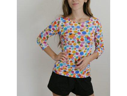 Tričko - barevné bubliny