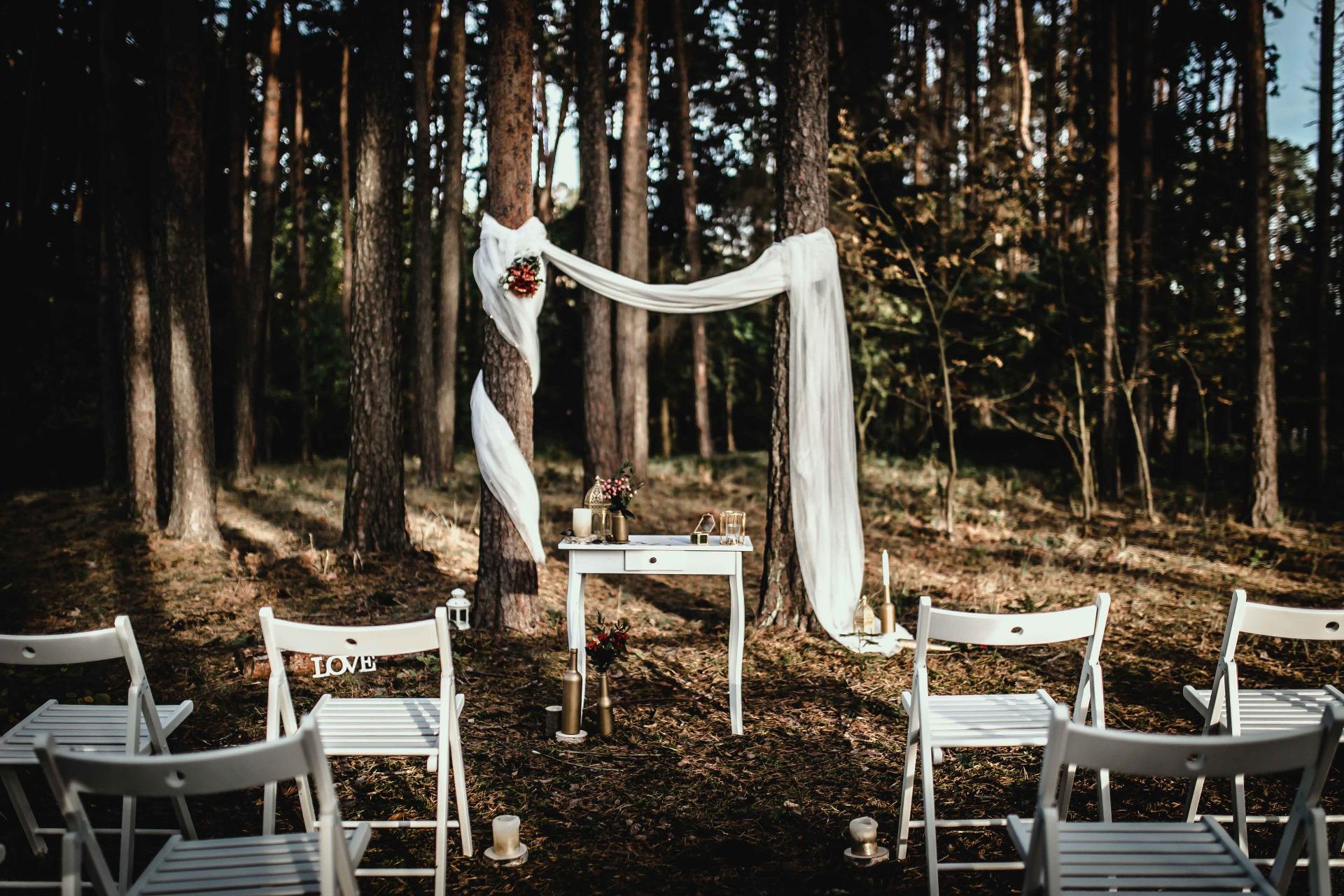 Svatební obřad na klíč