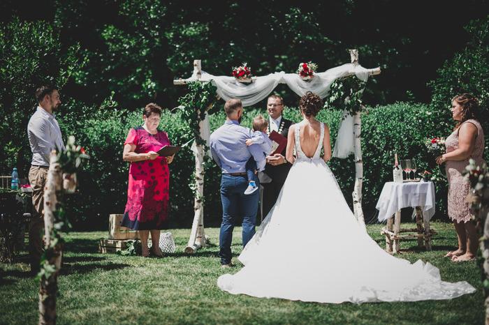 Svatební obřad, krok za krokem...