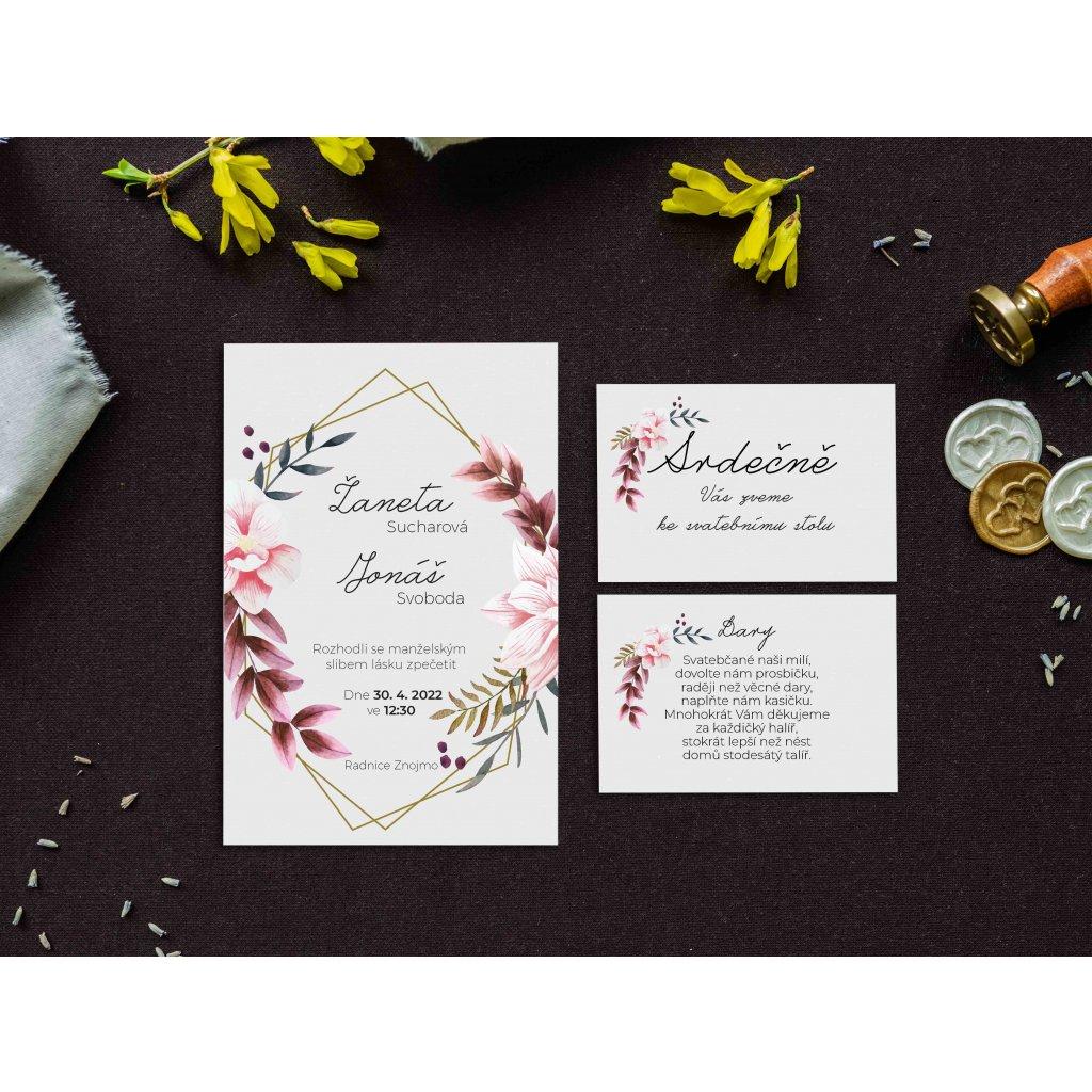 svatební oznámení p11c