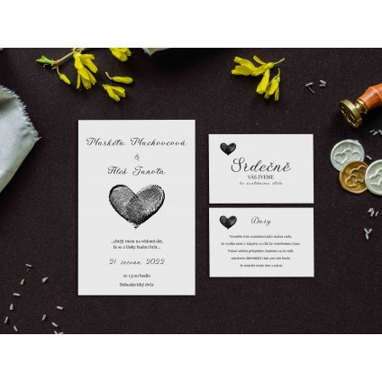 svatební oznámení p19c