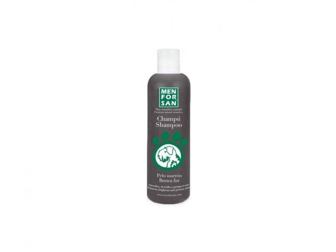 84757 menforsan sampon zvyraznujici hnedou barvu pro psy 300 ml