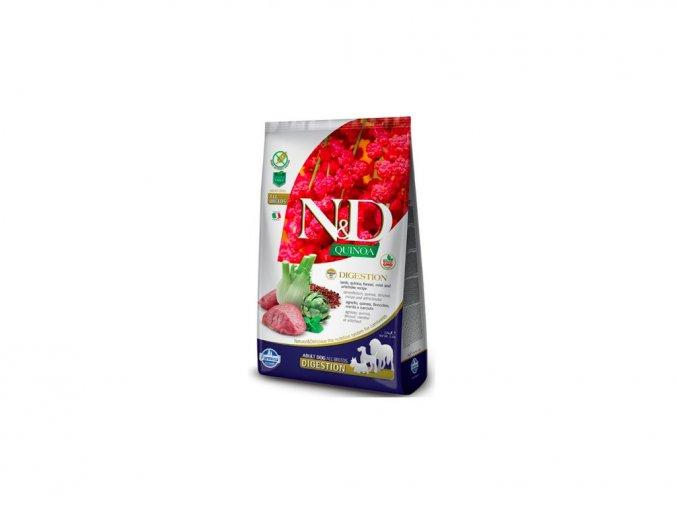 1203 n d gf quinoa dog digestion lamb fennel 7 kg na aaagranule cz