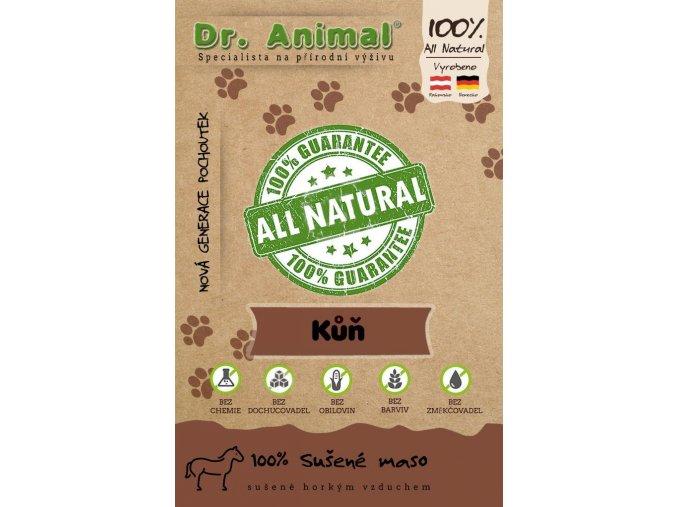 Dr. Animal Sušené maso kůň 100g