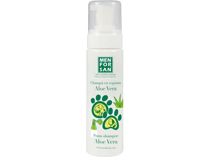 Menforsan pěnový šampon s Aloe Vera 200ml