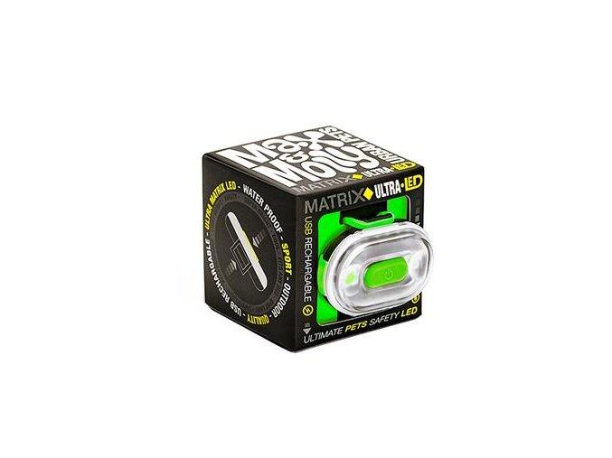 max molly matrix ultra led bezpecnostni svetlo zelene i68327