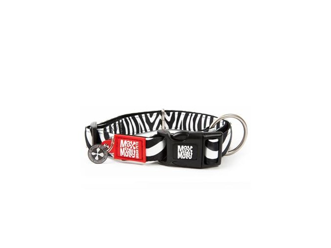 max molly smart id obojek polostahovaci zebra velikost xs i68566