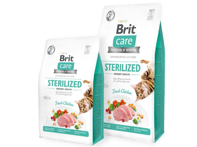 vyr 10089 Brit Care Cat GF Sterilized Urinary