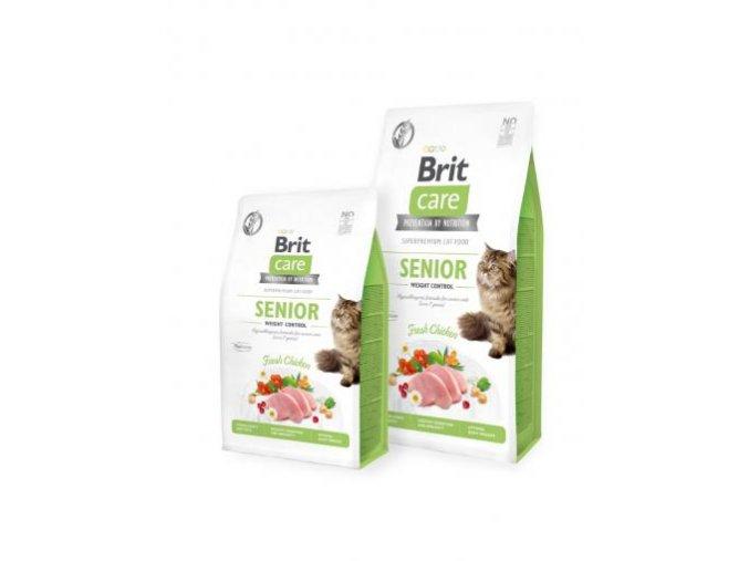 brit care cat grain free senior and weight control r