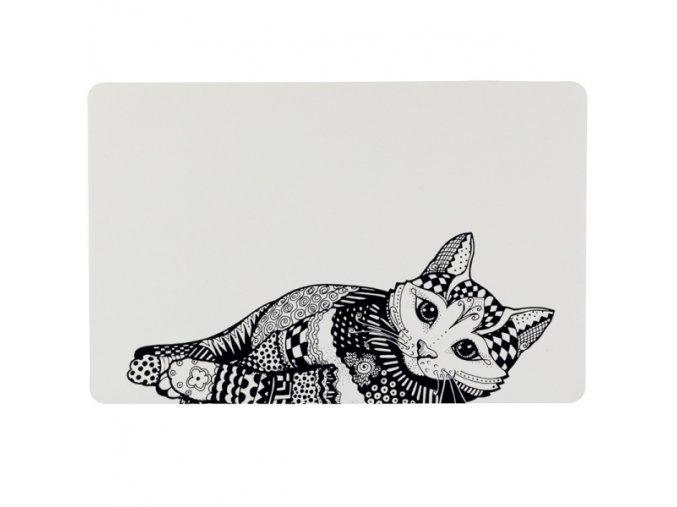 Prostírání pro kočky Trixie Zentangle