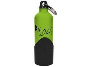 5698 1 lahev na vodu h2o2go 750 ml zelena