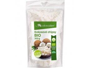 zdravy den kokosove chipsy bio 300 g