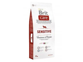 brit care dog sensitive venison potato 12kg